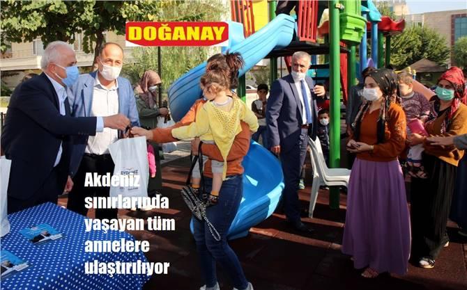 AKDENİZ BELEDİYESİ'NDEN, BEBEKLERE