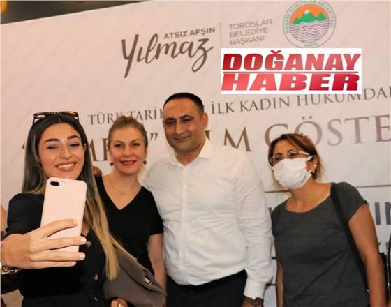 """BAŞKAN YILMAZ, 100 KADINLA """"TOMRİS"""