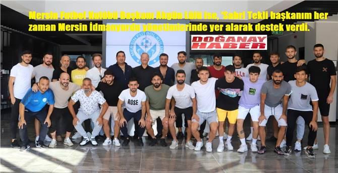 Sabri Tekli: Mersin'in Süper Lig'de takımı